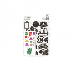 A5 Die Set - Chinese New Year (14 pcs)