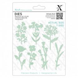 Dies (7pcs) - Meadow Flowers