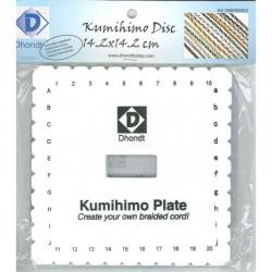 Kumihimo Braiding disc 14,2cm x 14,2cm