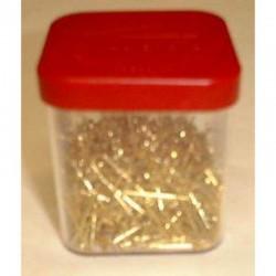 Brass straight pin 18 mm 50 gr