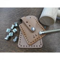 Metalstamps Alphabet set for leather 26 pcs