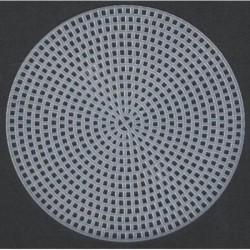 Plastic canvas round 15 cm 12 pcs