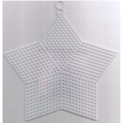 Plastic canvas star 5'' 12 pcs
