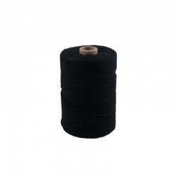 Cotton 2.2 mm - 70m - Black