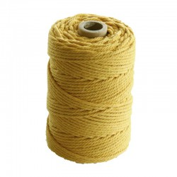 Cotton 2,2mm x 70m - Yellow