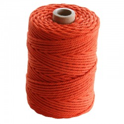 Cotton 2.2 mm - 70m - Orange