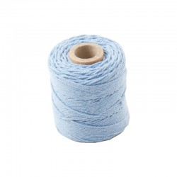 Cotton 1mm 65 m., lt blue