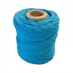 Cotton 1mm 65 m., turquoise