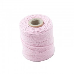 Cotton 1mm 65 m., pink