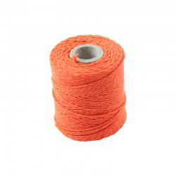 Cotton 1mm 65 m., orange