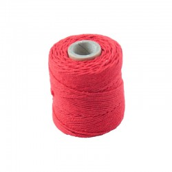 Cotton 1mm 65 m., red