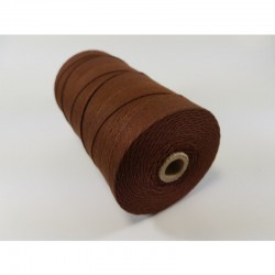 Cotton 1mm 65 m., brown