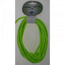 Paracord 4 mm x 5 m, Fel groen