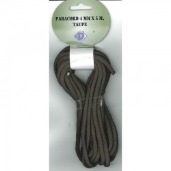 Paracord 4mm x 5m - Taupe