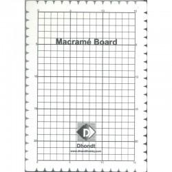 Macrame board 27 x 19 cm