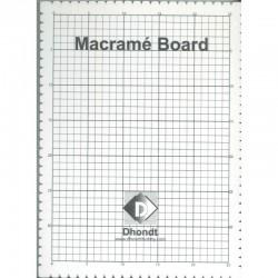 Macrame board 39 x 29 cm