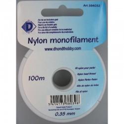 Nylonfilament 100 y 0.35 mm