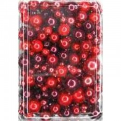 Imitation pearl mix 50 gr, Red/Burberry