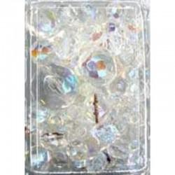 Imitation pearl mix 50 gr, Crystal AB
