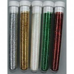 Ultra Fine Glitter 5 x 3 gr Kerst
