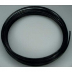 Alu wire 2 mm, 5 m Black