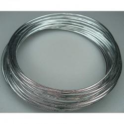 Aluminium wire 2mm x 5m Silver