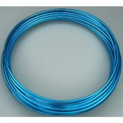 Aluminiumdraad 2mm x 5m Blauw