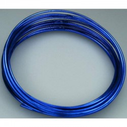 Alu wire 2 mm, 5 m Ocean Blue