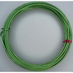 Alu wire 2mm x 5m Olive