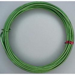 Alu wire 2mm x 5m Olive