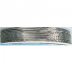 Crea Metal Alu wire 0.7 mm, 25 m, Silver