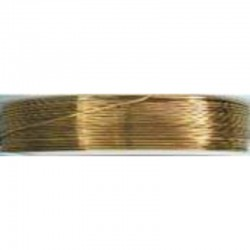 Crea Metal Alu wire 0.7 mm, 25 m, Gold