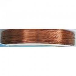 Crea Metal Alu draad 0.5 mm, 25 m, Zand