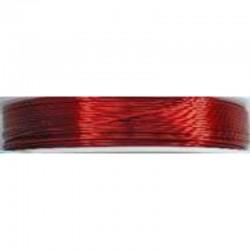 Crea Metal Alu draad 0.7 mm, 25 m, Rood