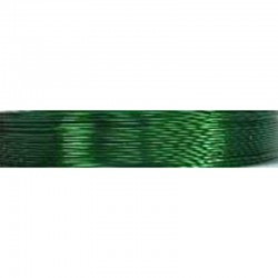 Crea Metal Alu wire 0.7 mm, 25 m, Green
