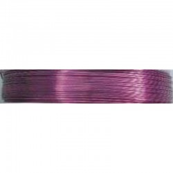 Crea Metal Alu draad 0.5 mm, 25 m, Rose