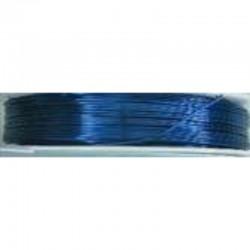 Crea Metal Alu draad 0.5 mm, 25 m, Marine Blauw