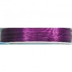 Crea Metal Alu wire 0.7 mm, 25 m, Violet