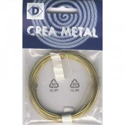 Brass wire 0,8 mm, 6 m