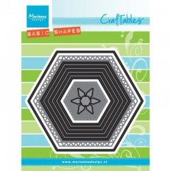 Craftables Basic set : Hexagon