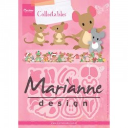 Collectables Eline's mice family