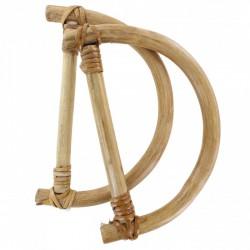Handle Bamboo 16 x 13 cm