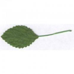 Leaf green 4 cm, 100 pcs