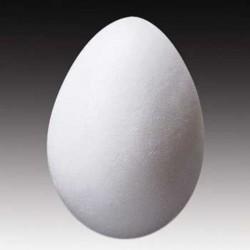 Polystyrene egg 8 cm, 25 pcs