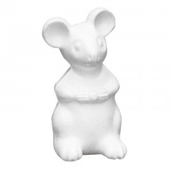 Styropor mouse 14x7x6 cm