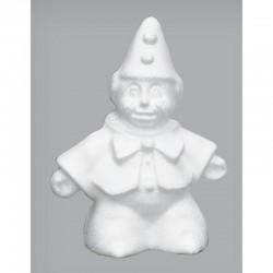 Styropor clown 15 cm