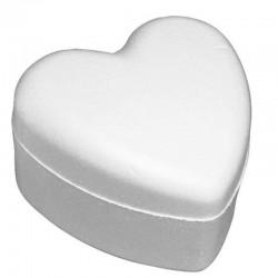 Polystyrene box heart