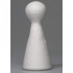 Cottonpaper doll 9 cm, 10 pcs