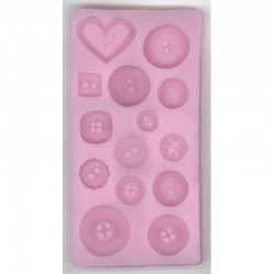 Silicon mould, Buttons