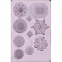 Silicon mould, Cabuchons